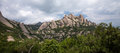 Montserrat spain craggy pinnacles at Stock Image