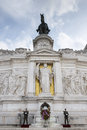 Monument altare della patria view of the majestic called in rome Royalty Free Stock Photos