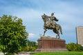 Monument Amir Timur in Tashkent, Uzbekistan.