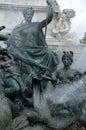 Monument aux Girondins in Bordeaux Stock Afbeeldingen