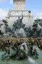 Monument aux Girondins in Bordeaux Stock Fotografie