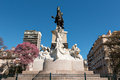 Monument of Bartolome Mitre, Buenos Aires Argentinien Royalty Free Stock Photo