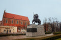Monument of Boleslaw I the Brave in Wroclaw