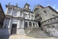 Monument Church Of St Francis Sao Francisco facade in Porto Royalty Free Stock Photo
