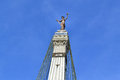 Monument Circle Statue in Indianapolis, IN Royalty Free Stock Photo