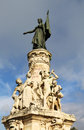 The monument du comtat in avignon marianne national emblem of france symbolizing triumph of republic Stock Photography