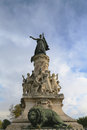 The monument du comtat in avignon marianne national emblem of france symbolizing triumph of republic Stock Photos