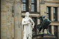 Monument Friedrich Schiller Berlin - Gendarmenmarkt Royalty Free Stock Photo