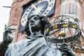 Monument of great astronomer nicolaus copernicus torun poland Stock Photo