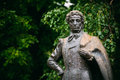 Monument great poet alexander pushkin in moscow russian russia Stock Photos