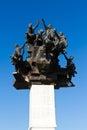 Monument Izmirs Gundogdu Lizenzfreies Stockbild