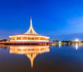 Monument at King Rama IX park Royalty Free Stock Photo