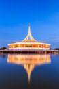 Monument at King Rama IX park Royalty Free Stock Photography