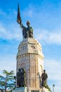 Monument of Mother Bulgaria in Veliko Tarnovo Royalty Free Stock Photo