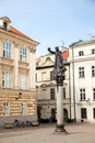 The monument of piotr skarga in krakow poland may on saint mary magdalene square Stock Photo
