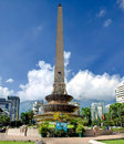 Monument on plaza francia square in caracas capital of republic of venezuela Stock Photography