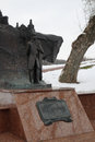 Monument of pushkin in vitebsk belarus one the classic examples monuments established late last century alexander the great Stock Photos