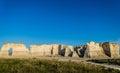 Monument Rock Chalk Pyramids Royalty Free Stock Photo