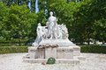 Monument for sandor petofi in bratislava slovakia hungarian poet and liberal revolutionary Stock Images