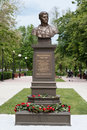 Monument of tatar poet, hero of the Soviet Union, Musa Mostafa Dzhalil.