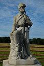 Monument of 149th Pennsylvania Infantry at Gettysburg Battlefield Royalty Free Stock Photo