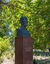 A monument to the architect Usta Shirin Shirin Muradov in Bukhar Royalty Free Stock Photo