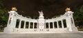Monument to Benito Juarez in Mexico City Royalty Free Stock Photo