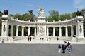 Monument to Benito Juarez in Mexico City -Mexico Royalty Free Stock Photo