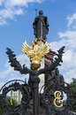 The monument to catherine the great and cossacks Stock Image