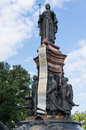 The monument to catherine the great and cossacks Stock Photos