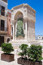 Monument to the Challenge in Barletta. Puglia. Italy. Royalty Free Stock Photos