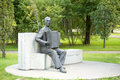 Monument to the composer raimond valgre in parnu estonia Royalty Free Stock Images