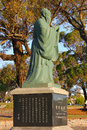 The monument to Confucius in park Rodo, Montevideo Royalty Free Stock Photo