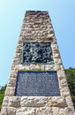 Monument to croatian anthem national in zelenjak hrvatsko zagorje croatia Royalty Free Stock Photos