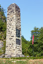 Monument to croatian national anthem in zelenjak hrvatsko zagorje croatia Stock Image