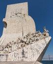 Monument to discoveries belem lisbon padrao dos descobrimentos or the statue and memorial in near portugal sculptor was leopoldo Stock Photos