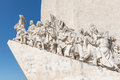 Monument to the discoveries in lisbon portugal Stock Photo