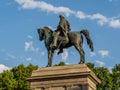 Monument to Garibaldi, Rome, Italy Royalty Free Stock Photo