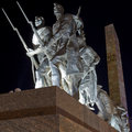 Monument to the Heroic Defenders of Leningrad Royalty Free Stock Photo