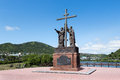 Monument to Holy Apostles Peter and Paul in Petropavlovsk-Kamchatsky City