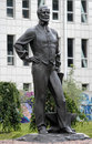 Monument to John James Hughes in Donetsk, Ukraine Royalty Free Stock Photo