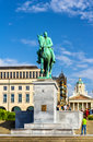 Monument to King Albert I in Brussels Royalty Free Stock Photo