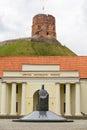 Monument to King Mindaugas Royalty Free Stock Photo