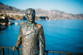 Monument to King of Spain Alfonso XII In Nerja, Spain Royalty Free Stock Photo