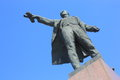 Monument to Lenin Royalty Free Stock Photos