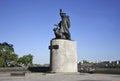 Monument to merchant seamen in vladivostok russia Royalty Free Stock Image