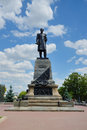 Monument to pavel stepanovich nakhimov sevastopol famous russian admiral who died during the defense of during the crimean war Royalty Free Stock Image