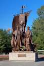 Monument to the Peter and Fevronia, Yekaterinburg Royalty Free Stock Photo