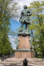 Monument to Peter the Great in  Kronstadt, Russia Royalty Free Stock Photo