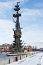 Monument to Peter the Great on the Moscow River